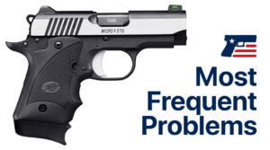 Most frequent issues and problems found with the Kimber Micro 9 Pistol